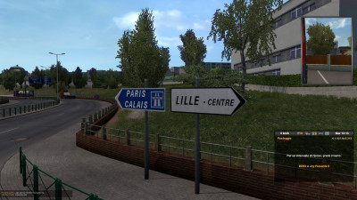 "Road Sign ""Lille"""
